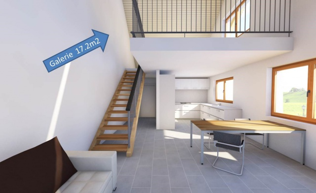 3.5 Zimmer (89m2) plus zusätzliche Galerie (17m2) 13925390