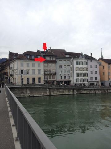 4.5 Zi-Attikawohnung direkt an der Aare (mit Balkon und Terr 13840575