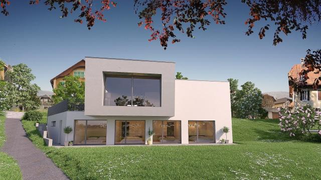 A vendre sur plans villa contemporaine à La Chaux-de-Fonds 13045152