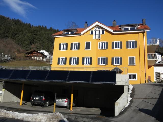 Exklusive, sonnige Dachwohnung in Sagogn
