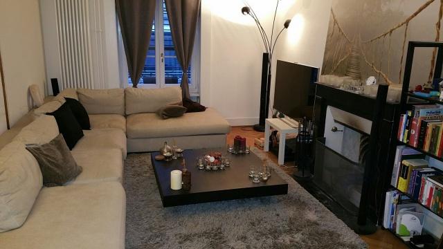 Appartement 4 pièces, meublé avec cheminée fonctionnelle