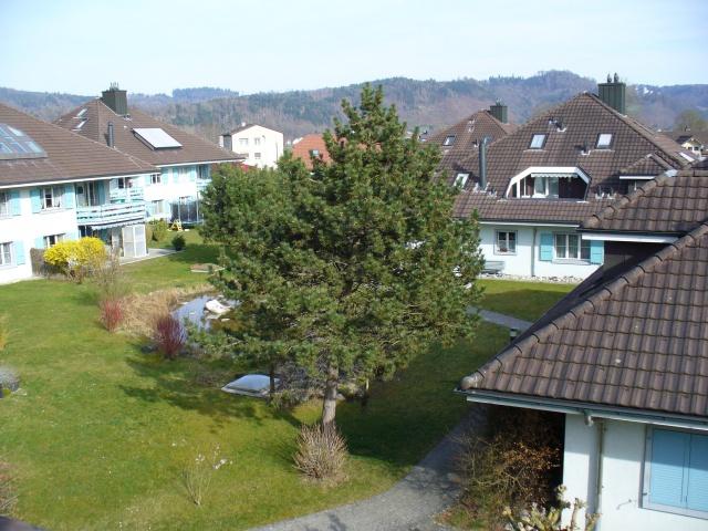 Helle, moderne Maisonette-Dachwohnung in ländlicher und doch 13057984
