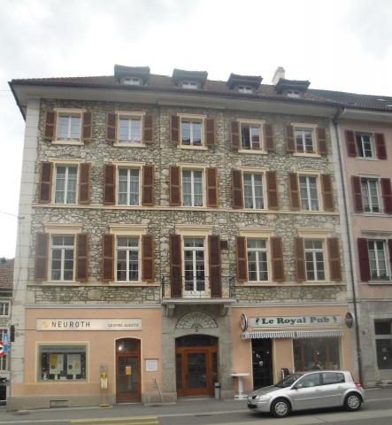 St-Imier, joli local commercial au 1er étage 11266070