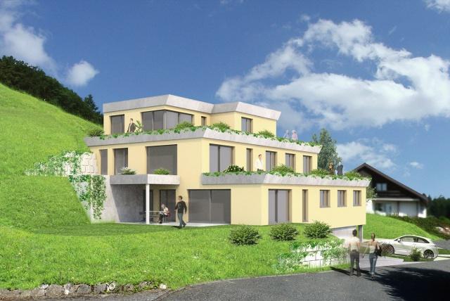 Neubau Terrassenhäuser 6145821