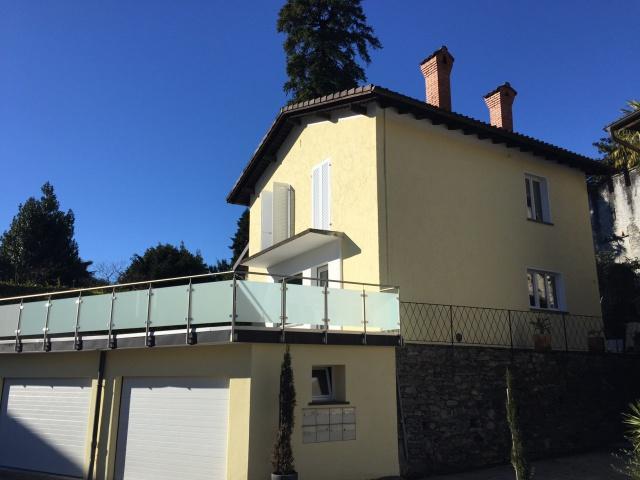 Einfamilienhaus in Locarno (komplett renoviert) mit Blick au
