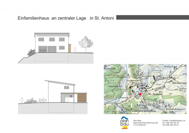 Neubau EFH an zentraler Lage in St. Antoni