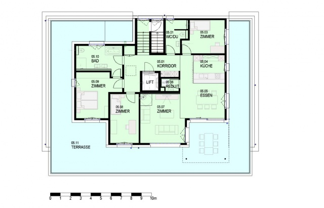 Neue Attika Wohnung 4.5 Zimmer mit unverbaubarer Fernsicht 12339711