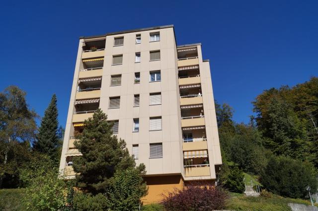 sehr geräumige 4.5 Zi.Wohnung mit Balkon