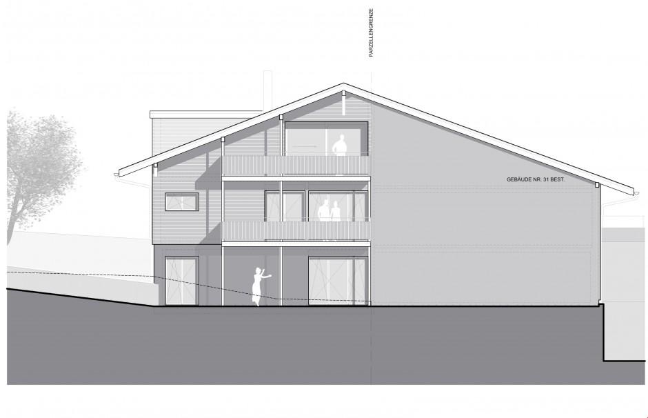 Neubau: Einfamilienhaus an ruhiger Lage