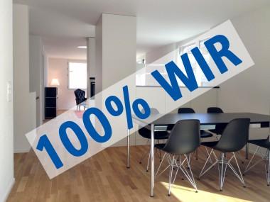 100% WIR - grosszügige Maisonette-Wohnung