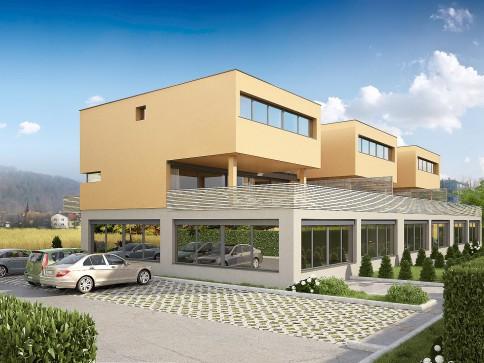 3 Reiheneinfamilienhaus mit Gewerbeanteil
