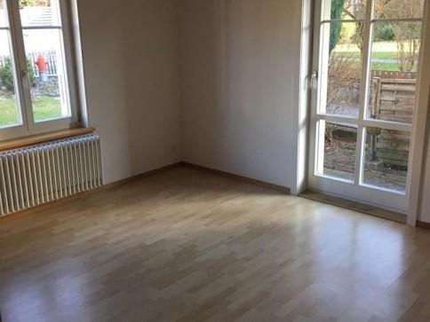 3-Zimmerwohnung mit grossem Gartensitzplatz!