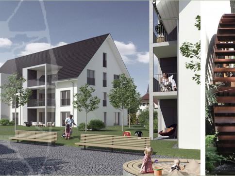 """4.5 Zimmer Eigentumswohnung EG """"Mühlematte"""" in Madiswil"""