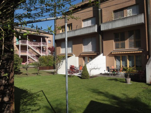 4.5-Zimmer Maisonette Gartenwohnung - ruhig, im Grünen und sehr sonnig