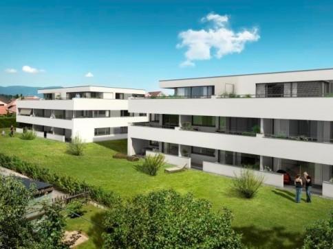4.5-Zimmer-Neubau-Wohnung mit Privatgarten