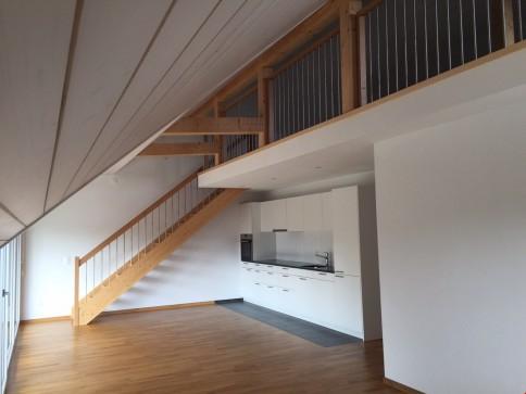 4.5-Zimmerwohnung mit Galerie - Zweitbezug