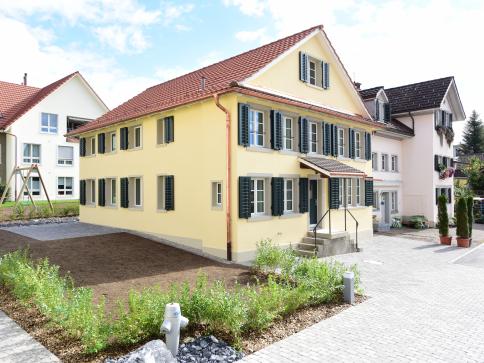 5.5 Zimmer-Einfamilienhaus im Dorfkern