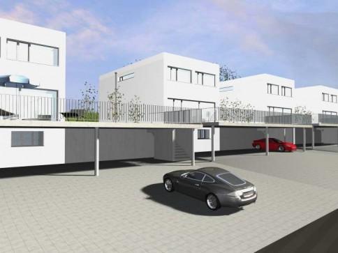 6 freistehende EFH in Courtepin/6 villas familiales à Courtepin