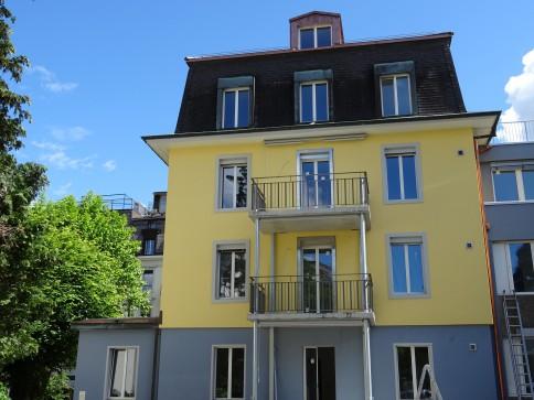 6-Zimmerwohnung mit Gartensitzplatz!