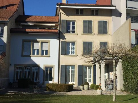 À louer à Romont à 2 pas du Château avec terrasse 15m2