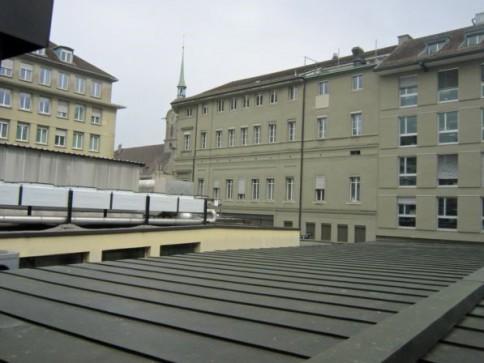 Arbeiten direkt am Bahnhof Bern
