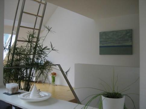 Architektenwohnung mit fünf Balkonen