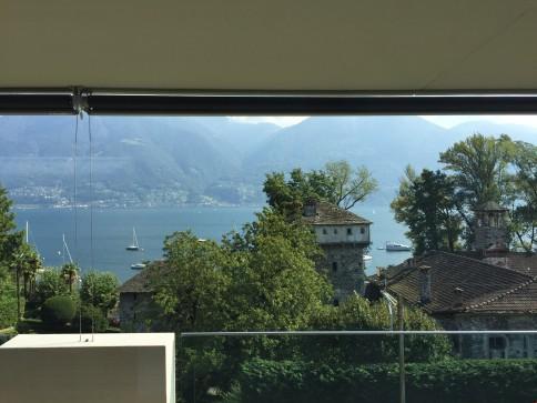 Attico con bellissima vista lago