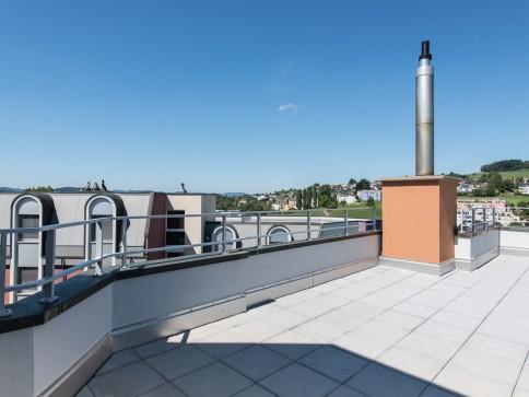 Attika-Wohnung mit 54m2 Terrasse