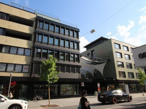 Bahnhofstrasse Buchs - attraktive Büro-/Praxisräumlichkeiten