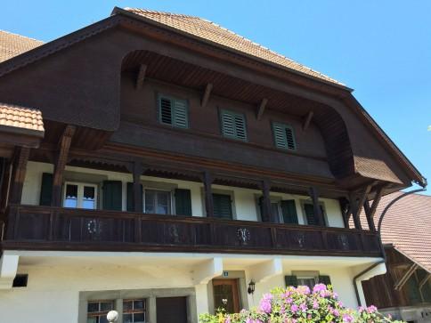 Bauernhaus mit zwei renovierten Wohnungen, Stallungen und Spycher