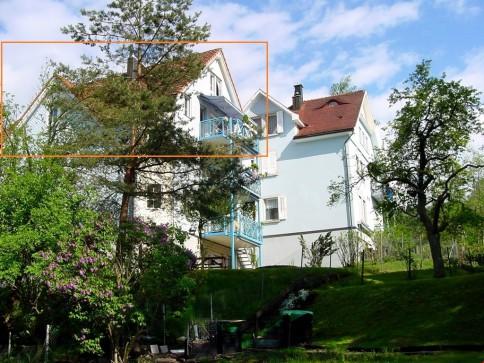 Beste Lage Stadtrand St.Gallen: 6 1/2-Zi. Dachmaisonettewohnung