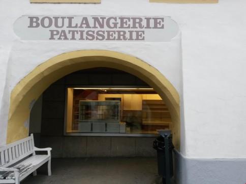 Boulangerie au centre d'Estavayer-le-Lac