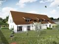 Drei Reiheneinfamilienhäuser Haus 1