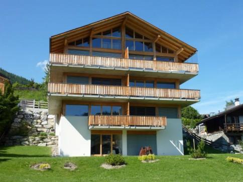 Duplex - centre village Vercorin - proche de pistes de ski