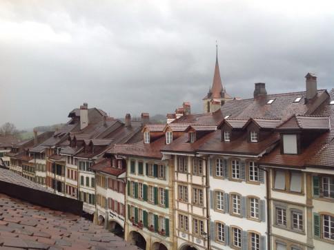 Eine schöne Dachwohnung mitten in der Altstadt von Murten