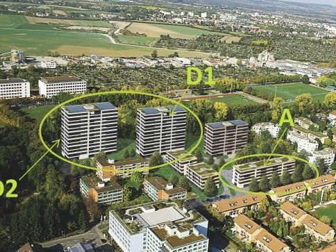 Erstvermietung Duradero / attraktive Wohnungen für jedes Alter