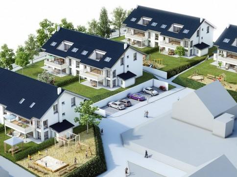 Erstvermietung in Mittelhäusern letzte 3.5-4.5 Zi-Dachw. m. 127 m2