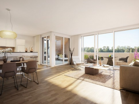Exklusive Dach-Maisonettewohnung mit loftartigem Charakter