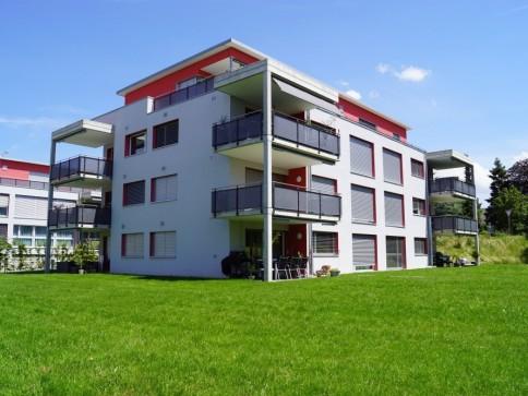 gemütliche, ruhig gelegene 3.5-Zimmerwohnung mit Gartensitzplatz