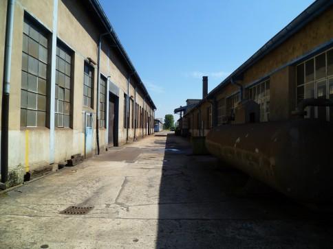 Grande halle industrielle Ebarbage - Moudon