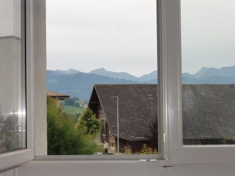 Grosszügige 1-Zimmer Whg. mit Bergsicht und Sitzplatz im Grünen