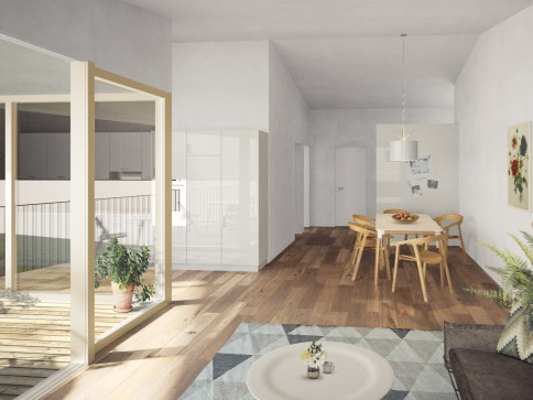 Grosszügige 4.5-Zimmer-Wohnung mit optimaler Südwestausrichtung