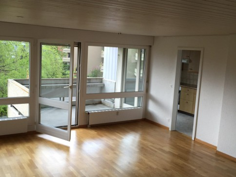 Helle 3 1/2-Zimmerwohnung mit zwei Balkonen