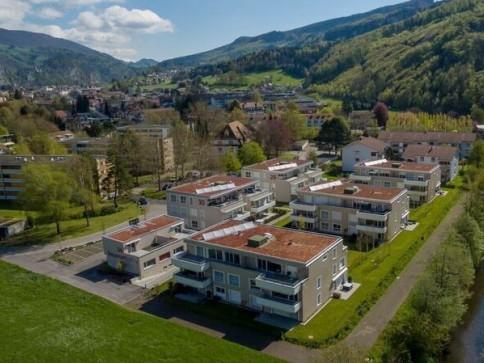 Helle, moderne Attika-Wohnung an idyllischer Lage