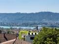 Luxuriöse 5-Zimmer-Wohnung mit prächtiger Sicht über Stadt und See