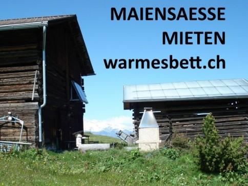 MAIENSAESSE TAGE-/WOCHENWEISE MIETEN AUF www.WARMESBETT.ch