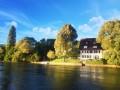 Malerisches Paradies mit privatem Rheinzugang