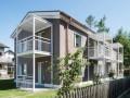moderne Studiowohnung mit Balkon und Keller