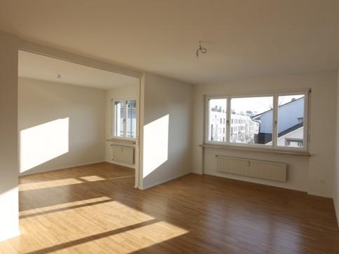 Neu renovierte 3-Zimmerwohnung im Bachlettenquartier