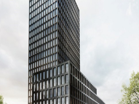 Neubau: Repräsentative Bürorflächen im Grosspeter Tower